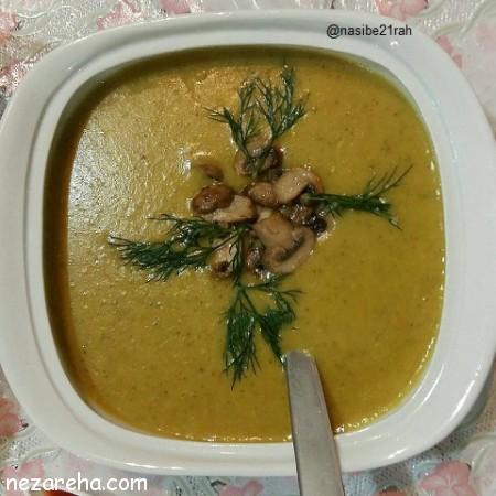 سوپ بروکلی , طرز تهیه سوپ بروکلی , سوپ بروکلی خوشمزه , سوپ بروکلی با سیب زمینی