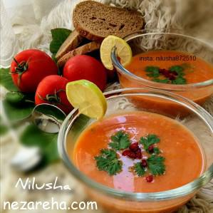 آموزش تهیه سوپ مرغ , سوپ مرغ خوشمزه , سوپ مرغ جعفری