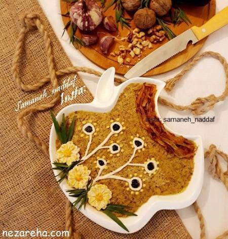 مواد لازم و آموزش طرز تهیه کشک بادمجان کبابی و ساده مجلسی