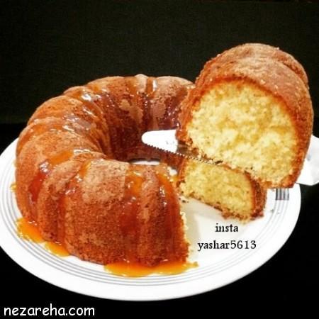 کیک پرتقال , طرز تهیه کیک پرتقال , کیک پرتقالی , کیک پرتقال مجلسی