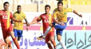تساوی فولاد خوزستان و صنعت نفت آبادان در بازی مقابل هم